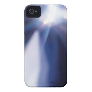 Abstract Crystal Reflect Hole iPhone 4 Case