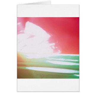 Abstract Crystal Reflect Mixers Card