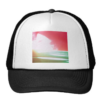 Abstract Crystal Reflect Mixers Trucker Hat