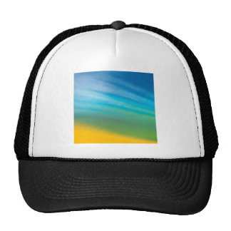 Abstract Crystal Reflect Morn Trucker Hat