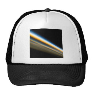 Abstract Crystal Reflect Motorway Trucker Hat