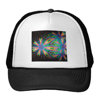 Abstract Crystal Reflect Plates Trucker Hat