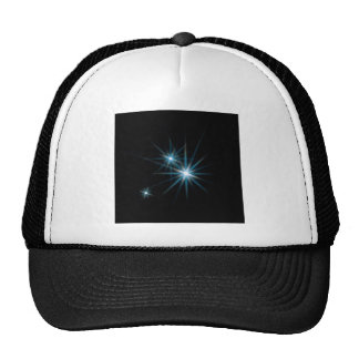Abstract Crystal Reflect Sparkle Trucker Hat
