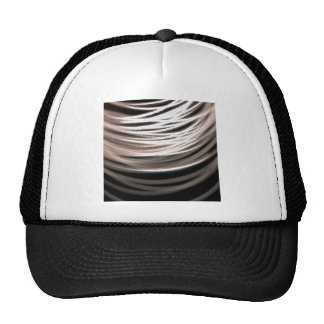 Abstract Crystal Reflect Wool Trucker Hat