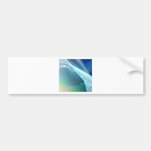 Abstract Crystals Within The Focus Bumper Stickers