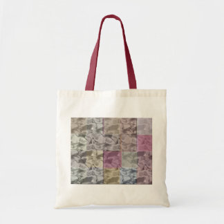 Abstract Cubes in Quiet Pastel Colors Canvas Bag