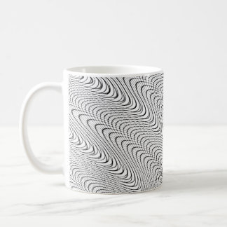 Abstract Curves Coffee Mug