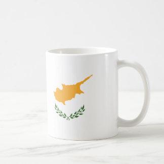Abstract Cyprus Flag, Cypriot Colors Mug
