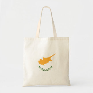 Abstract Cyprus Flag, Cypriot Colors (Vector Art) Tote Bag