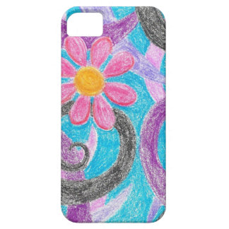 Abstract Daisy iPhone 5 Case