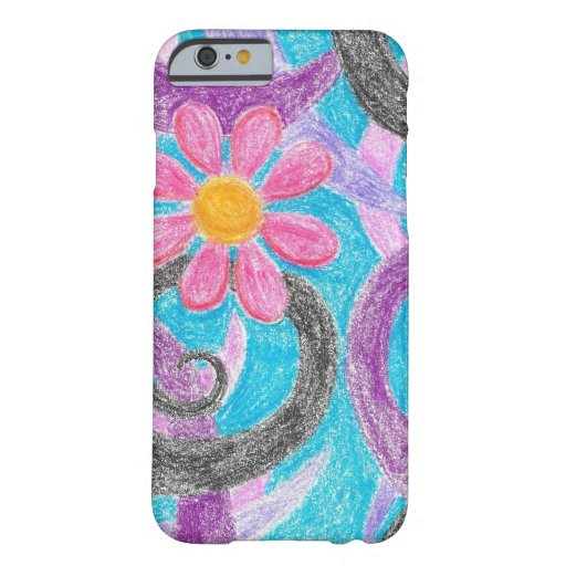 Abstract Daisy iPhone 6 case