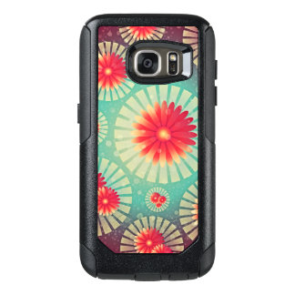 Abstract Daisy Pattern OtterBox Samsung Galaxy S7 Case