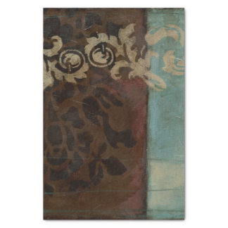 Abstract Damask Tapestry by Jennifer Goldberger Tissue Paper
