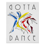 Abstract Dancers - Gotta Dance