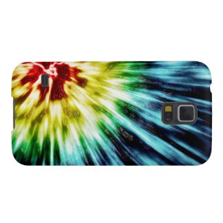 Abstract Dark Tie Dye Galaxy S5 Cover