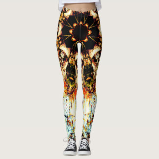 Abstract Darkness Leggings