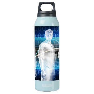 Abstract Data of Population and Key Demographic Insulated Water Bottle