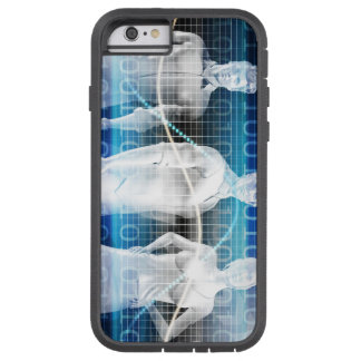 Abstract Data of Population and Key Demographic Tough Xtreme iPhone 6 Case