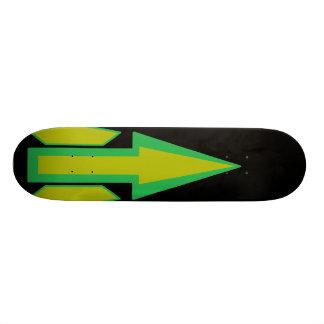 Abstract Deck Black [skateboard deck] Skate Board