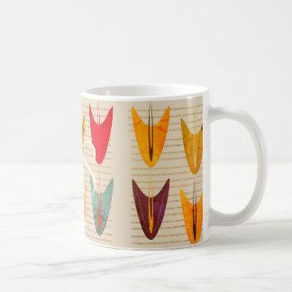 Abstract Decorative Tropical Vibrant Patterned Mug