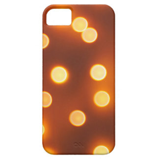Abstract defocused and blur small yellow lights iPhone 5 covers
