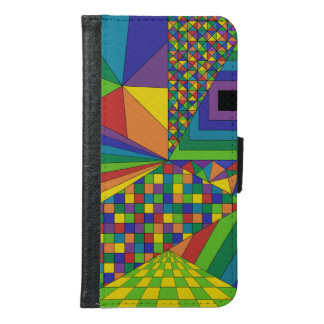 Abstract Design 2 Galaxy S6 Wallet Case