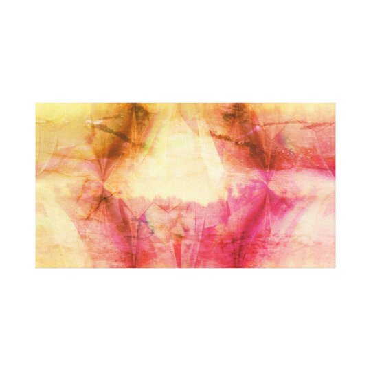 Abstract design canvas print