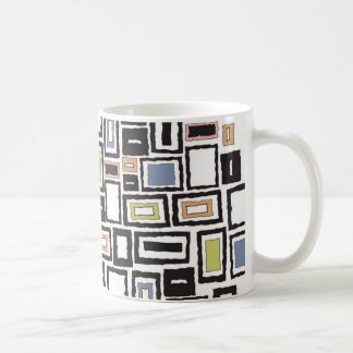 Abstract Design Classic White Coffee Mug