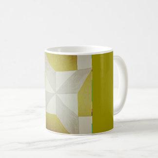 Abstract design coffee mug