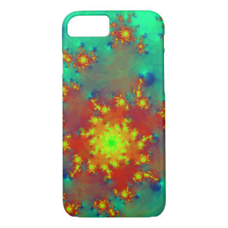 abstract design colorful fractal iPhone 7 case