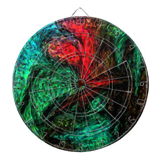 Abstract Design Dart Boards