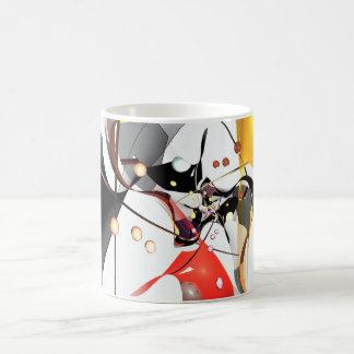 abstract design fractal magic mug
