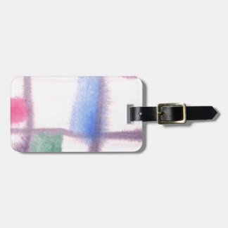 Abstract Design from Original Painting Luggage Tag