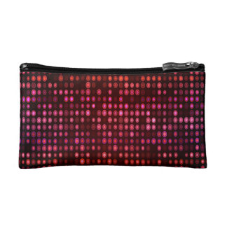 Abstract Design Geometric Purple And Lilac Circles Cosmetic Bag