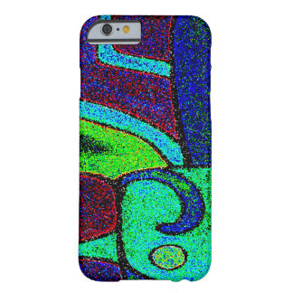 ABSTRACT DESIGN- GLYPH OF NUMBER FOUR BARELY THERE iPhone 6 CASE
