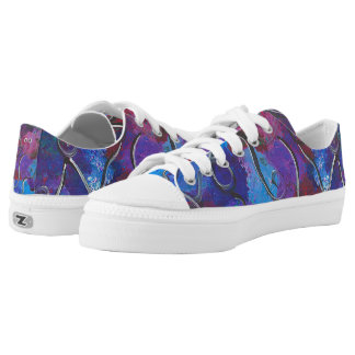 Abstract Design Male or Female Canvas Tennis Shoe