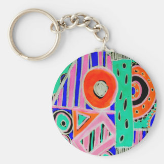 Abstract Design Products Keychain