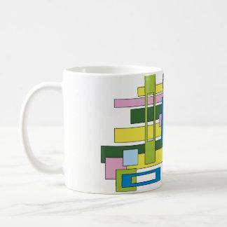 Abstract design rectangle Creatinery© Coffee Mug