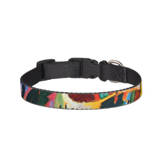 Abstract design Small Pet Collars