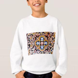 Abstract design sweatshirt