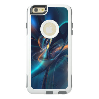 Abstract Design w?Blues, Greys, Golds, Oranges OtterBox iPhone 6/6s Plus Case