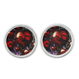 Abstract Designed Cuff Links by Artful Oasis