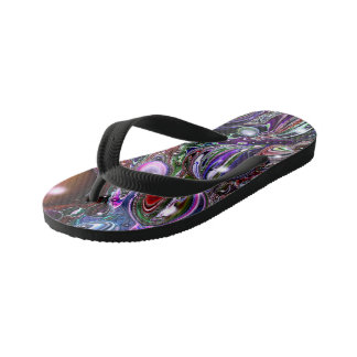 Abstract Designed Flip Flops Shoes by Artful Oasis