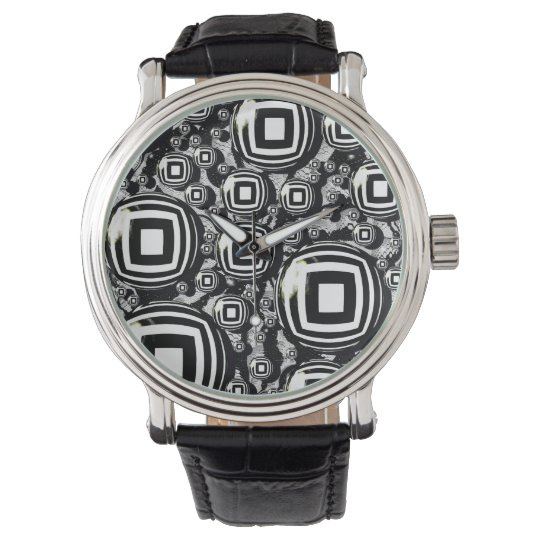 Abstract Designed Watch by Artful Oasis