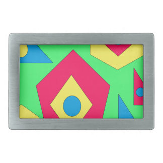 Abstract designs. belt buckle