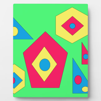 Abstract designs. plaque