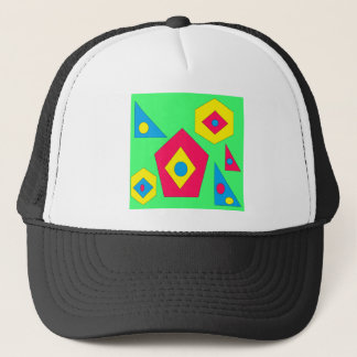 Abstract designs. trucker hat