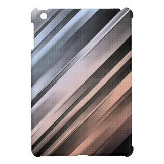 Abstract Diagonal Lines iPad Mini Cases