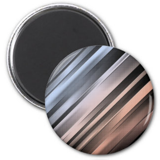 Abstract Diagonal Lines Magnet