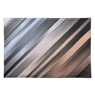 Abstract Diagonal Lines Placemat